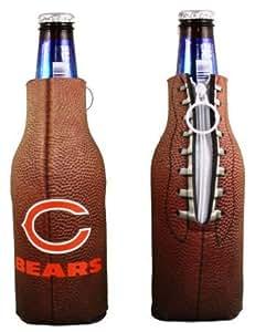 Amazon Com Chicago Bears Bottle Coolie Koozie Cooler