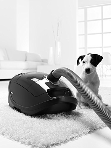 -[ Miele Complete C3 Power Line Bagged Cylinder Vacuum Cleaner, 4.5 L, 1200 W - Black  ]-