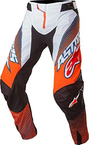 "Alpinestars Alpine Stars Techstar Factory MX Motocross Pants Flou Orange Bl MX Pants One Size 28"""