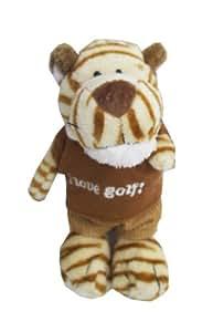 Nici golf edition tiger keychain - Sports animal golf Keychain Tiger