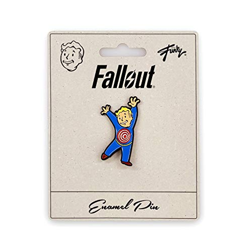 JUST FUNKY Fallout Collectibles | Vault Boy Collector's Edition Moving Target Perk Pin Blue]()