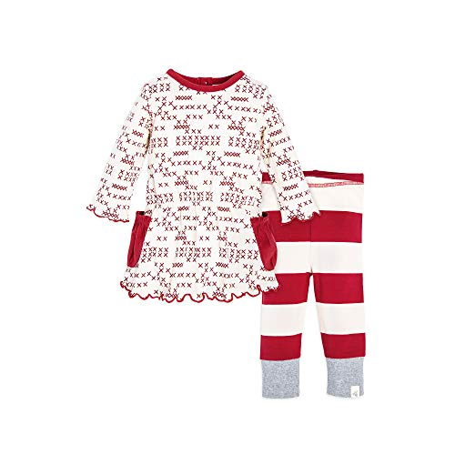 (Top and Pant Set, Tunic and Legging Bundle, 100% Organic Cotton)