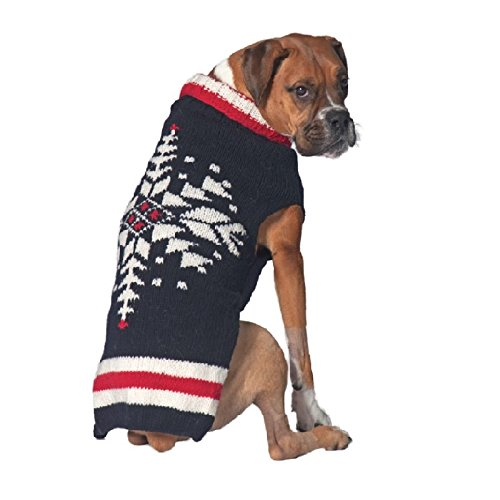 Chilly Dog Ski Team Sweater for Dogs, X-Small