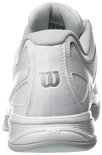 Wilson WRS323010E, Zapatillas De Tenis Hombre, Blanco (White/Pearl Blue/Navy), 50 EU