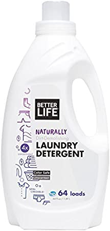 Better Life Laundry Detergent, Unscented, 64 Ounces by Better Life