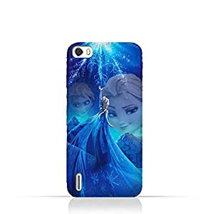Huawei Honor 6 TPU Protective Silicone Case with Frozen Elsa Design