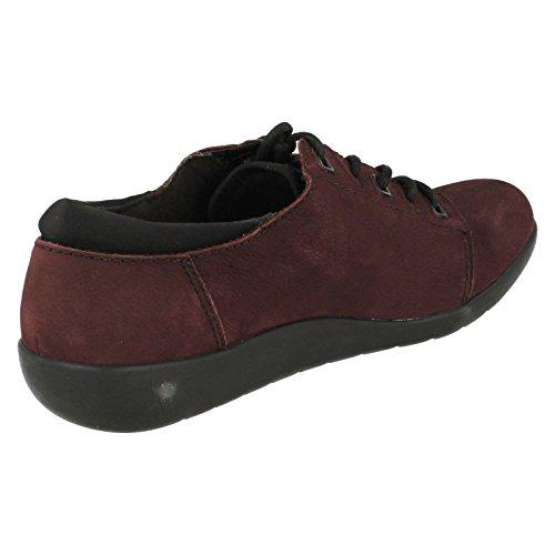 5 Aubergine D 5 CLARKS Medora Shoe Clarks Womens Bella xqwFB40Fz