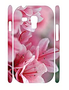 Natural Cute Flower Pattern Dust Protection Phone Case for Samsung Galaxy S3 Mini I8200