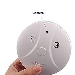 DREAM HO(TM) Hidden Spy Camera DVR Smoke Detector Security Nanny Camcorder Motion Detection with Remote Controller