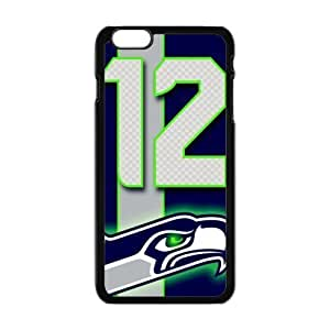 NFL seattle seahawks Black Case With Hard Shell Cover for Case Cover For Ipod Touch 5