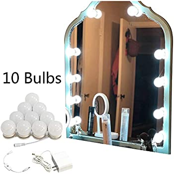 Vanity Mirror Lights Kit For Makeup Flexible Led 6000k