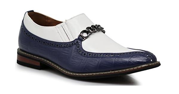 Amazon.com: crd3 para hombre dos tonos pala dedo del pie con ...