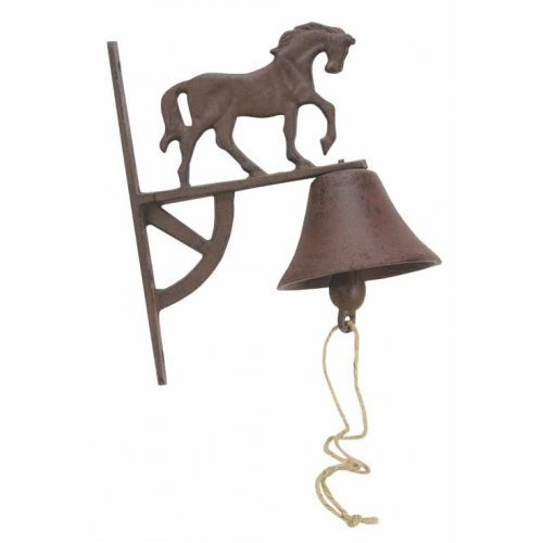 er Bell Yard Wall Hanging Garden Decor Hang Indoor Outdoor (Country Dinner Bell)