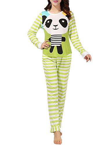 VENTELAN Pajamas Sleepwear Stripes Loungewear
