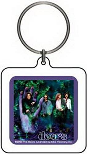 CD Visionary The Doors Logo Lucite Keychain K-0203