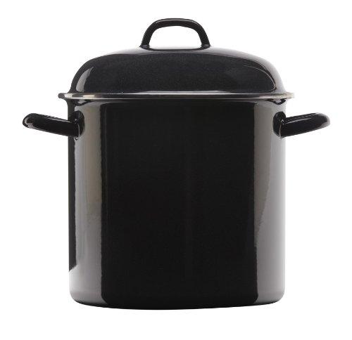 Grande Epicure 5268-2 Heavy Gauge Stock Pot, 8-Quart, Black