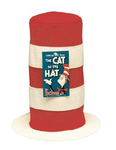 [HAT CAT IN HAT] (Cat In Hat Halloween Costume)