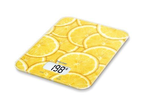 543 opinioni per Beurer 704.07 KS 19 Bilancia da Cucina, Multicolore Limoni
