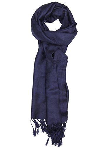 Navy Blue Silk Dress - 6