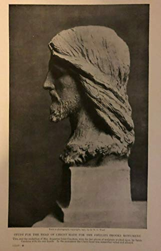 1908 Later Works of Artist Augustus St. Gaudens illustrated
