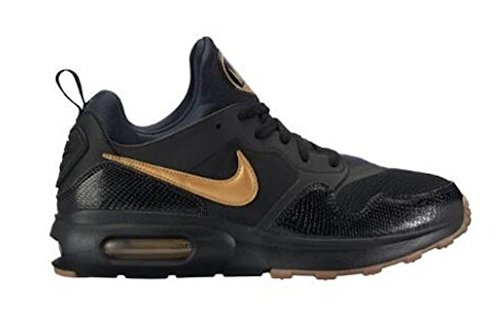 Nike Men's Air Max Prime Shoe Black/Metallic Gold-Gum Med Brown (11, Black/Metallic Gold-Gum MED Brown)