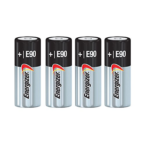 Energizer E90 Alkaline Batteries, 1.5V, LR1 N Size (Pack of 4) ()