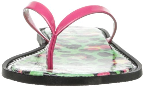 Nine West Women's Dulcie Thong Sandal Pink xR854Bwz8