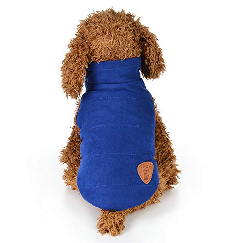 Dog Winter Cotton Jacket Laimeng_World Pet Clothes Puppy Round Neck Shirt Two-Legged Clothes Double-Faced Cotton Coat
