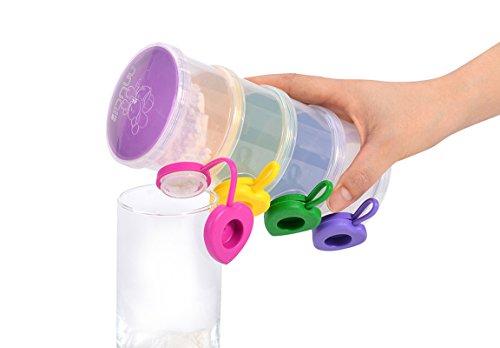 MUAI Hot Sale Baby Formula Dispenser Snacks Storage Container