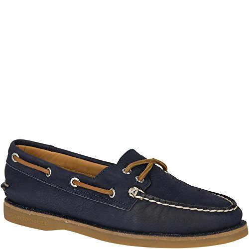 Sperry Top-sider Womens Gold Authentic Original Boot Shoe Navy