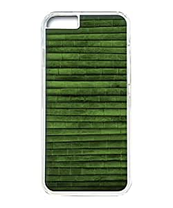 VUTTOO Iphone 6 Case, Bamboo Lines Pattern Customize Hard Back Case for Apple iPhone 6 4.7 Inch PC Transparent