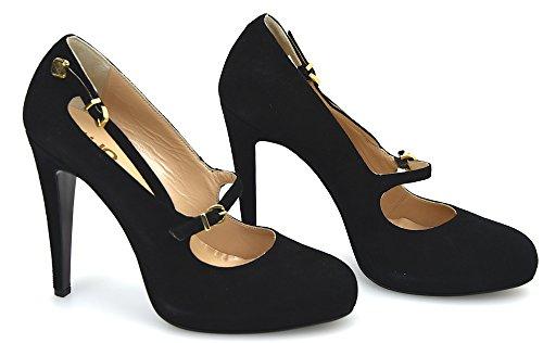 Gigar Zapato jo S62175 Liu Gamuza De Baby 40 P01141 Para Tacón Café O Nero Mujer Negro Black qP55dw7