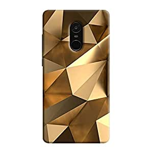 Cover It Up - Gold Angles Redmi Note 5 Hard Case