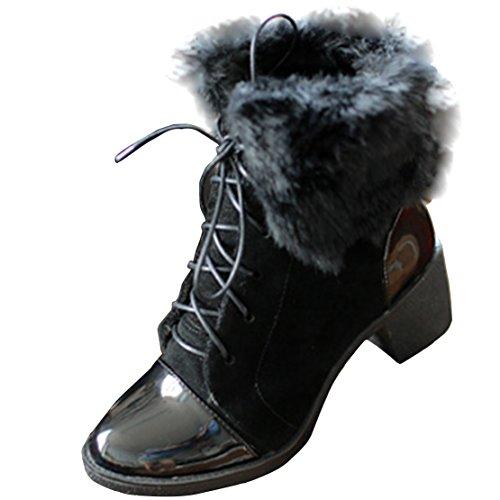 AIYOUMEI AIYOUMEI Women's Black Classic Boot Women's qYqrH