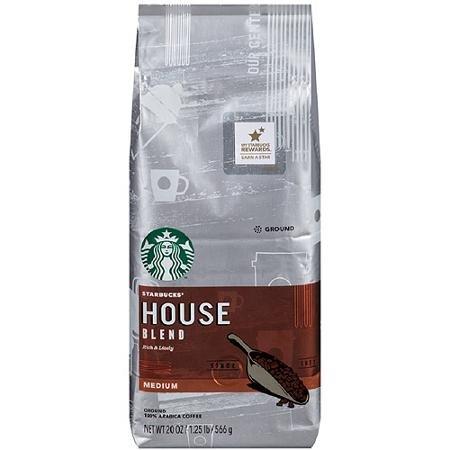 Starbucks House Blend Ground Coffee - Medium Roast 20 oz. (Medium Roast Starbucks Coffee compare prices)