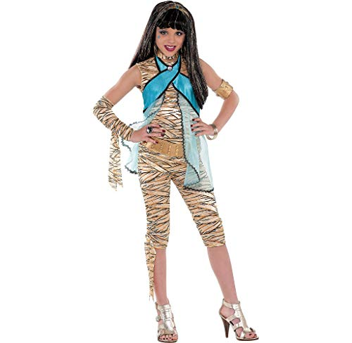 Monster High Cleo de Nile Halloween Costume Deluxe for Girls, Small, with Included Accessories, by Amscan for $<!--$29.99-->