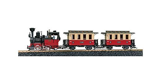 en stock LGB LGB LGB L 70302 G Passenger train start-set with sound For indoor and outdoor Diameter of oval track 1290 mm by LGB  alta calidad