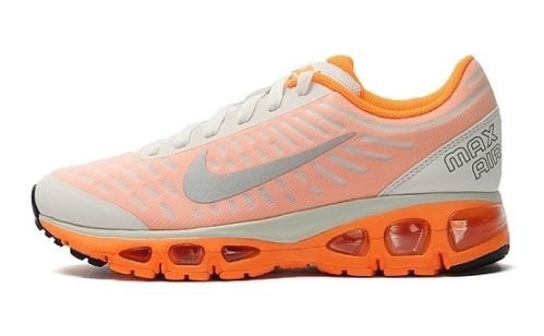 online store 26f19 ab7b5 Nike Air Max Tailwind +5 Running Shoes-555415 108 White Orange Silver sz 7  US  Amazon.ca  Shoes   Handbags