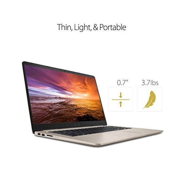 ASUS VivoBook S15 Thin and Portable Laptop, Intel Core i5-8250U, 4GB DDR4+16GB Intel Optane, 1TB Optane Enhanced, MX150… 2