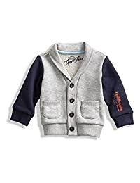 GUESS Two-Tone Shawl Cardigan (0-24M)