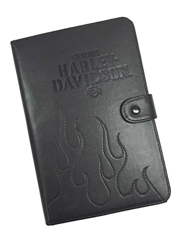 HARLEY-DAVIDSON Universal Folio Tablet Case, Embroidered Flames, 7-9 inch 06908 (Harley Case Ipad Davidson)