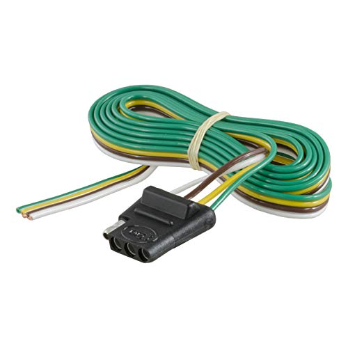 - CURT 58040 Vehicle-Side 4-Way Trailer Wiring Harness with 60-Inch Wires, 4-Pin Trailer Wiring