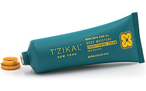 Deep Protein (T'zikal Deep Moisturizing Conditioning Cream with Ojon Oil is a Sulfate Free Deep Conditioning Hair Treatment for Dry Damaged Hair All Natural Hair Conditioner. Daily Use -All Hair Types- Women and Me)
