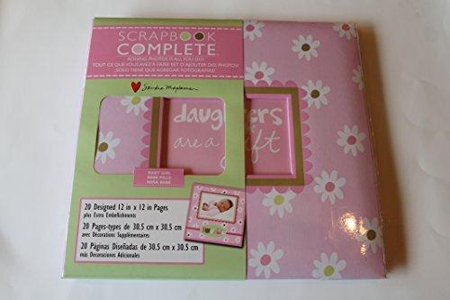 C.R.Gibson Baby Girl Complete 12 X 12 Scrapbook ()