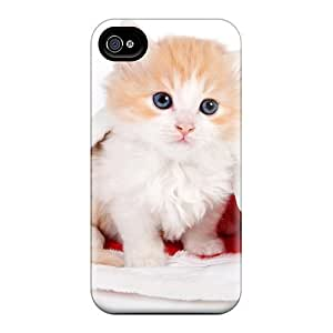 Snap-on Cases Designed For Iphone 6- Cat Hat Of Santa Claus