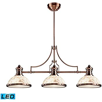 Amazon.com: Bidwell Lighting Canyon Oak II 3 Light 13