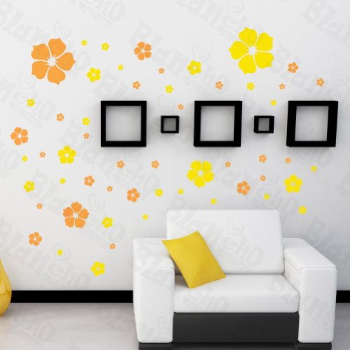 [Floral Excitment] Decorative Wall Stickers Appliques Decals Wall Decor Home Decor, Baby & Kids Zone