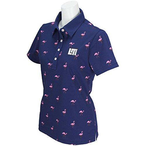 ラウドマウスゴルフ Loud Mouth Golf 半袖シャツ?ポロシャツ 半袖ポロシャツ レディス ネイビー 997 S