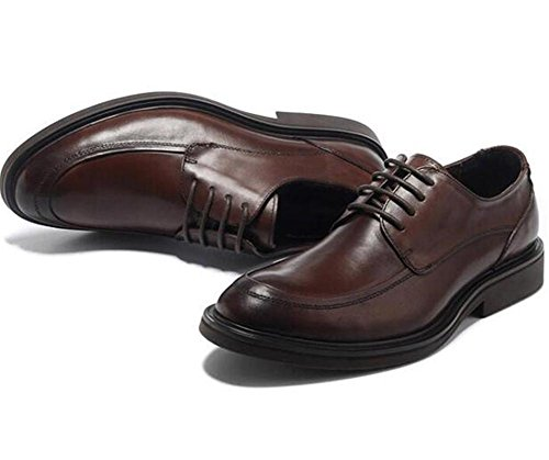 Hommes Chaussures Cuir véritable lacets Entreprise Formel Robe Derby Taille 38To 45 Brown bGr3mPZWZ
