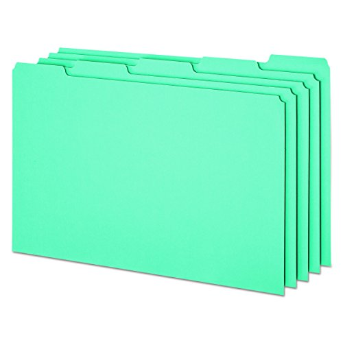 (Pendaflex File Guides with Blank Tabs, Legal Size, Blue Pressboard, 50 Per Box (PN305))